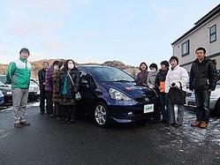 震災から10か月となる1月11日、新たに25台が提供された