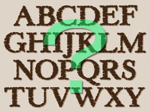 これすごいかも…ABC順に並べたアルファベットを全て「線対称」にした ...