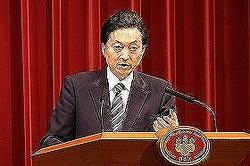 鳩山元首相はどんな「外交手腕」を見せるのか(撮影は首相在任時)。