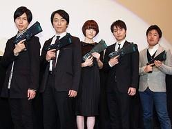 劇場版『サイコパス』ついに公開! 神谷浩史、花澤香菜、関智一、野島健児、塩谷直義監督