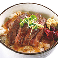 白肉屋(名古屋/中区) 「ステーキ丼」400円