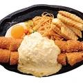 キッチン欧味 吹上本店 ジャンボ&ジャンボエビフライ 2500円(定食2700円)