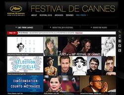 『カンヌ国際映画祭』オフィシャルサイトより
