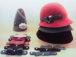 ヘレン カミンスキーが帽子のカスタマイズ実施 デザイナーがスタイル提案