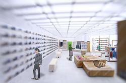 新スポーツカジュアルを提案するアトモスの新業態 新宿南口に出店