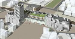 生まれ変わる大分駅ビルは露天風呂付き、2015年春開業へ