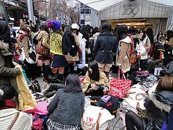 SHIBUYA109初売り 2012年は午前6時45分にグランドオープン