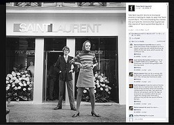 イヴ・サンローランが「Saint Laurent Paris」立ち上げを発表