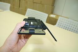 microSDスロットとUSB
