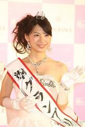 準グランプリの長澤芽美さん(立教大学3年)