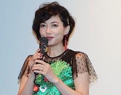 結婚&妊娠発表後初の公の場となった遠藤久美子