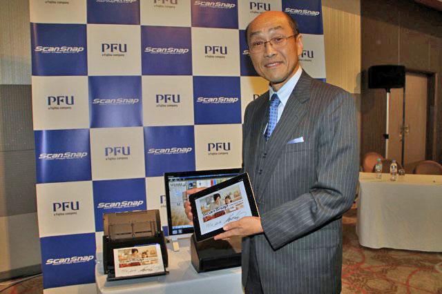 株式会社PFU 代表取締役社長 長谷川 清 氏