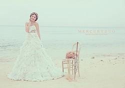 マーキュリーデュオのウエディングドレス発売