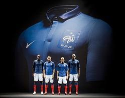 adidasからNIKEへ 新フランス代表ユニフォーム公開