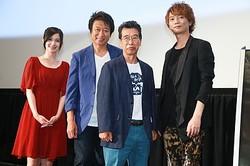 ジンメンもアポロンも登場する『サイボーグ009VSデビルマン』! (左から)M・A・O、井上和彦、田中亮一、浅沼晋太郎