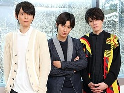 今をときめくイケメン3人衆!(左から、古川雄輝、野村周平、間宮祥太朗)  - 写真:杉映貴子