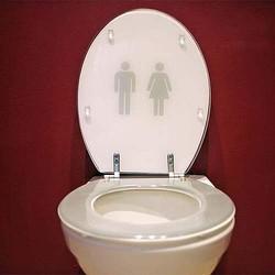 """出会い系で""""トイレ""""が人気に、紹介文は「誰も感謝してくれません」。"""