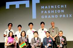 大賞はkolor阿部潤一 2012年度「毎日ファッション大賞」表彰式開催