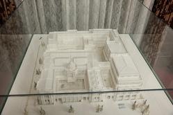 日本銀行の模型(昭和13年頃)