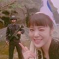 AFTERSCHOOLのリジ 竹島に上陸した写真をInstagramに投稿し波紋