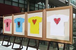 草間彌生と大野智がデザイン 24時間テレビチャリTシャツ発表