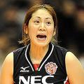 NECがトヨタ車体をセットカウント3−0で下した (Kenta YOKOYAMA/PHOTO KISHIMOTO)  [2009年1月25日 東京体育館]