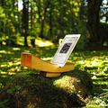 自然が生み出すスピーカー 樹齢150年の天然木から木工作家が手作り