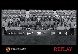 「リプレイ」FCバルセロナのスポンサー就任 デニムブランドが公式スーツ提供