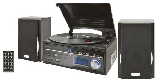 [画像] レコードやカセットからSDカードまで! 全部イケるオーディオシステム『EXEMODE ER-270』