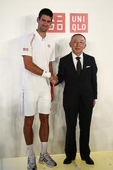 ユニクロ 世界ランク1位のプロテニス選手ノバク・ジョコビッチと契約