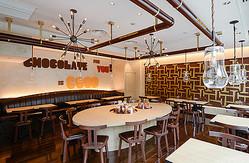 チョコレートバー「MAX BRENNER」1号店が初公開 5店舗出店を計画