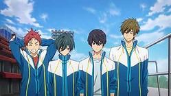 『映画 ハイ☆スピード!−Free! Starting Days−』(C)2015 おおじこうじ・京都アニメーション/ハイスピード製作委員会