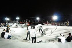 お台場ダイバーシティ屋上でスケートボードコンテスト初開催