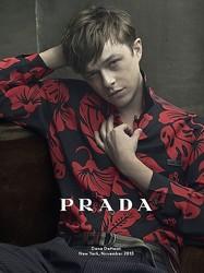 PRADA 2014年春夏メンズ広告でアニー・リーボヴィッツと初タッグ