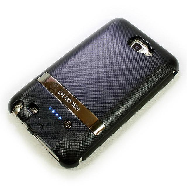 スマートに一体化!GALAXY Noteを無敵化するバッテリー内蔵ケース【イケショップのレア物】
