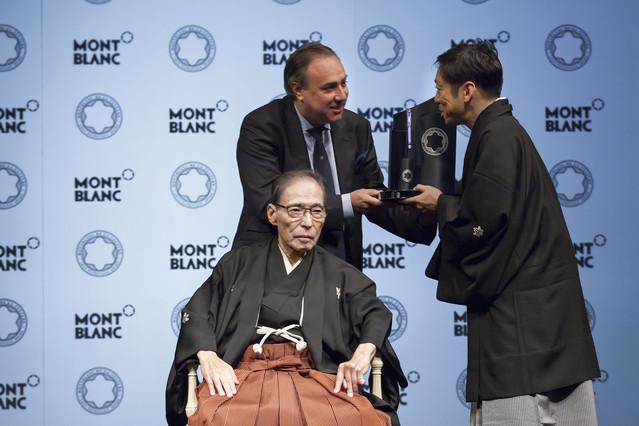 モンブランが第22回モンブラン国際文化賞を発表!日本の受賞者は二代目市川猿翁氏に!!