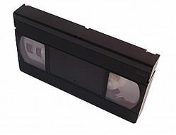 約500本のビデオテープが不法投棄された(画像はイメージ)