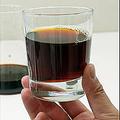 味はまろやか、水出しコーヒー