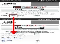 プレミアム会員向けの検索が、一般会員でも使い放題に-ニコニコ動画