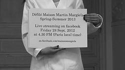 【生中継】マルジェラ初 パリから最新コレクションをライブ配信
