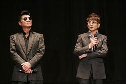 Vシネの帝王! 哀川翔(右)&小沢仁志