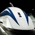 2003年に実験線で世界最高速度(時速581キロ)を記録したリニアの先頭車両。2年後の着工に向け、様々な声が上がってきている