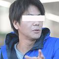 12月中旬、快く取材に答えてくれた今井絵理子議員と半同棲中のA氏(右)