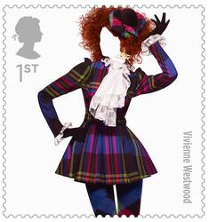 ファッション好きにはたまらない、イギリスファッション史をいろどる10の偉大なブランドが切手に。アレキサンダー マックイーン、ヴィヴィアン ウエストウッド、ポール スミスなどが参加