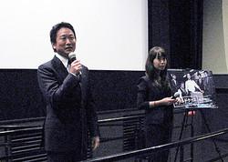 波多野貴文監督と岡野真紀子プロデューサー