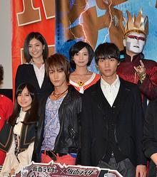 ポワトリン入来茉里、見どころは「太ももです!」映画『仮面ライダー』完成