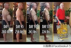 マックのメニューだけで27kg減、米男性が実験のつもりで半年間続ける。