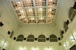 旧営業場の天井