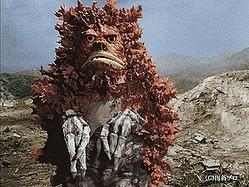 写真は、隕石怪獣ガラモン