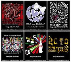 「ワンピース」や益若つばさデザインも、コカ・コーラがW杯Tシャツ。